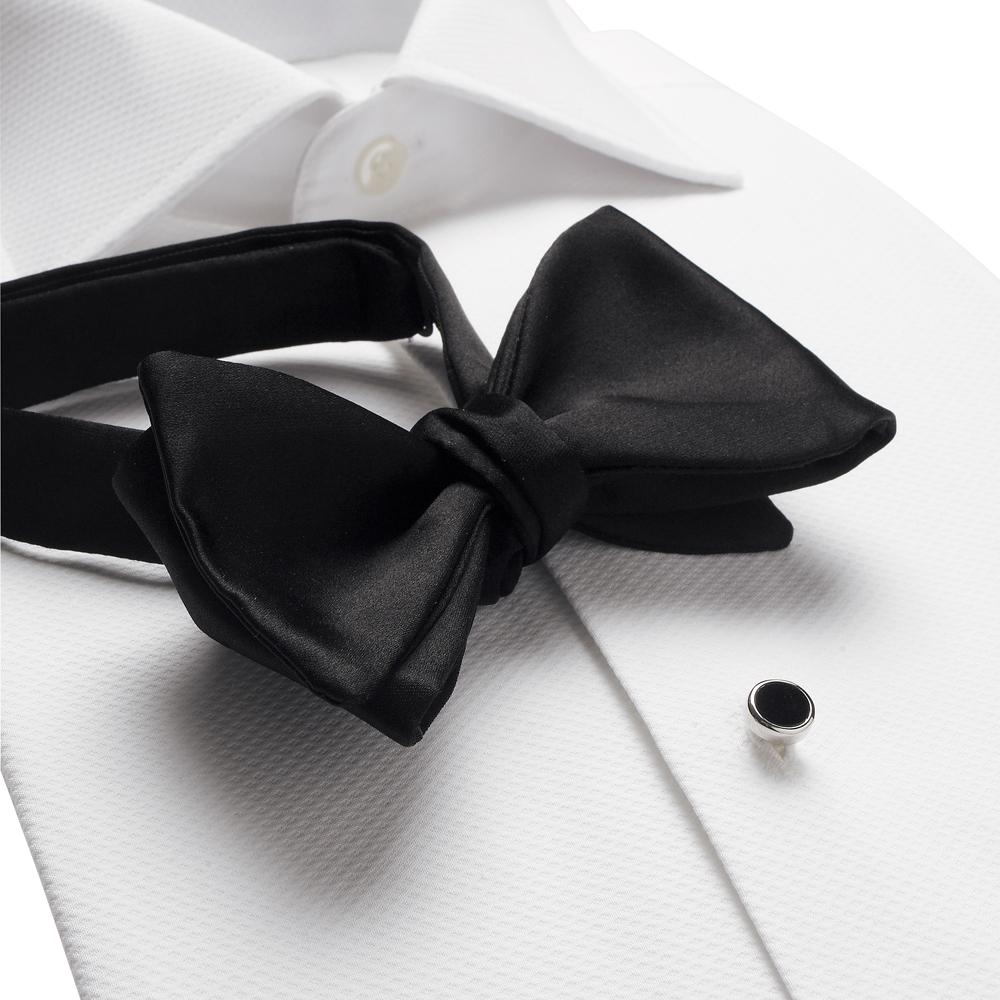 Черный галстук бабочка своими руками